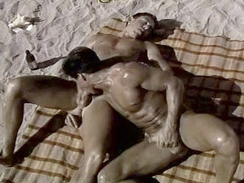 Beach Blanket Boner Old Classic Sex Retro Interracial