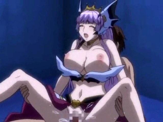 Hot hentai girl warrior blowjob and fucks stick.