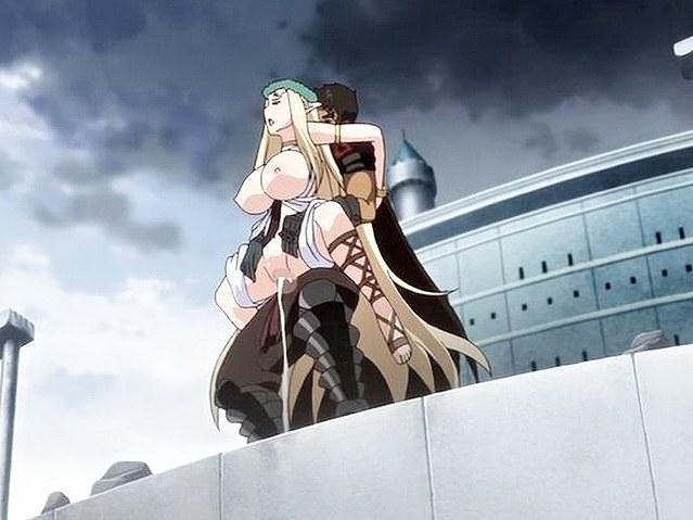 Amazing fantasy drama hentai movie with uncensored group analy bondage scenes. .