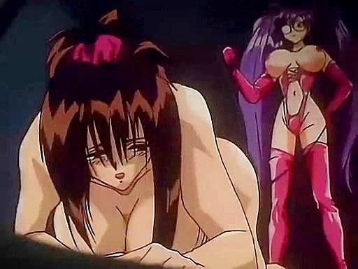 Anime Lesbiche in Hentai porno giapponese