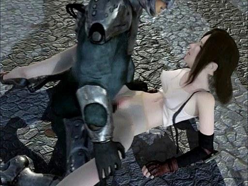 Final Fantasy Hentai Threesome Video