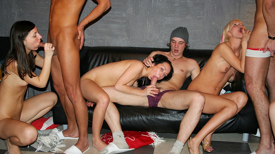 Incredibly sexy college fucked right into an asshole movie with group sex