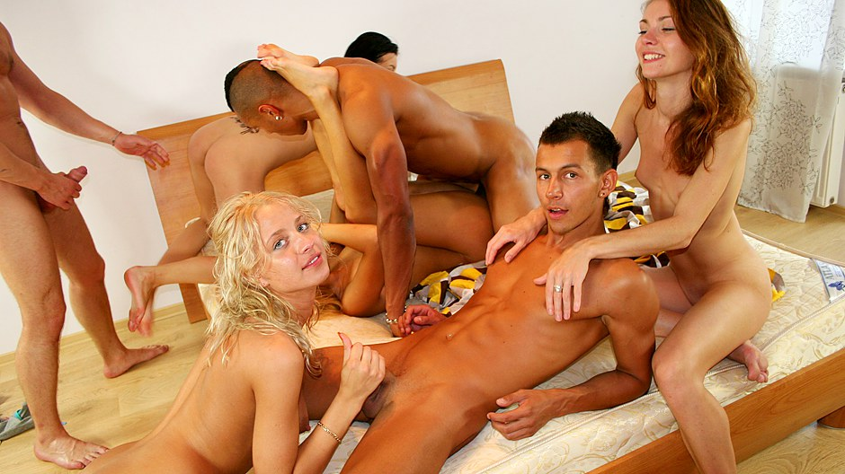Mindblowing adult party movies with group fuck