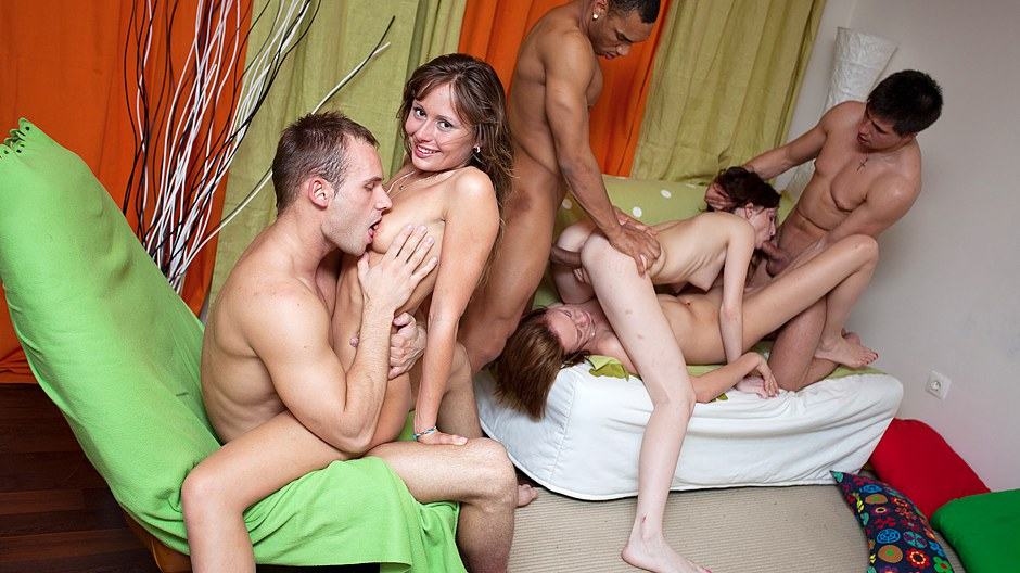 amazing student blow jobs and group fucking