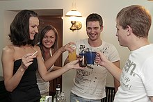 Students get boozed and start drunk orgy