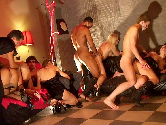 Halloween students orgy