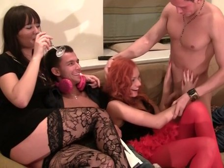 Group sex of crazy students