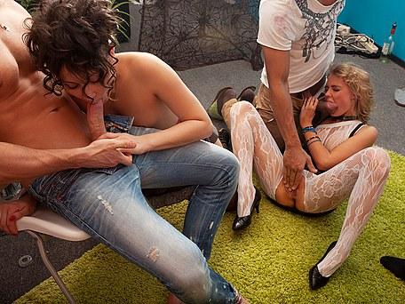 Softcore gay massage