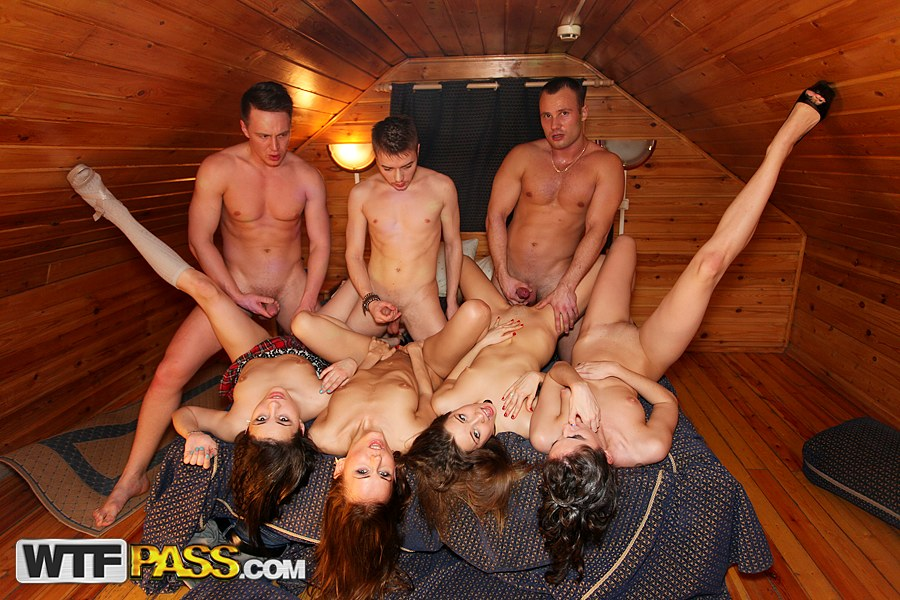 Amateur Wife Sharing Orgy