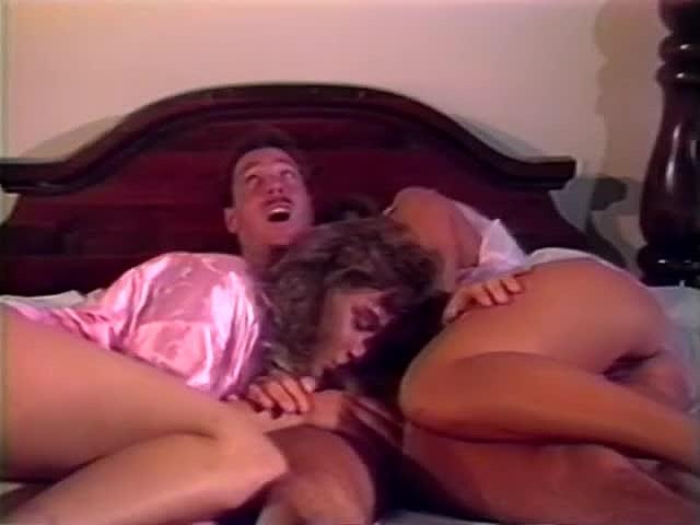 Bambi Allen, Breezy Lane, Nikki Randall in vintage porn clip