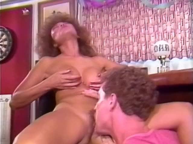 Barbie Doll, Bella Donna, Jade East in classic porn clip