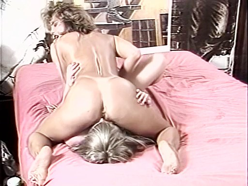 Deep dildo fuck from lesbian girls