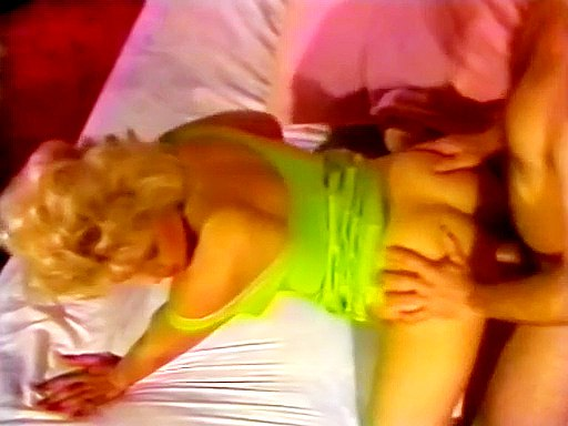 Busty blonde in doggy before cock