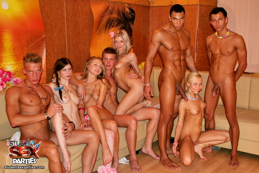 hot student party