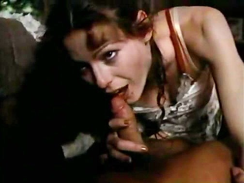 Annette Haven, Randy West in sexy lingerie babe in classic xxx footage - סרטי סקס