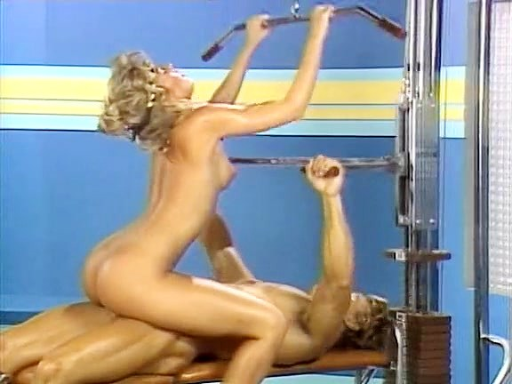 Candie Evans, Francois Papillon in sex in the sport club from xxx classic porn - סרטי סקס
