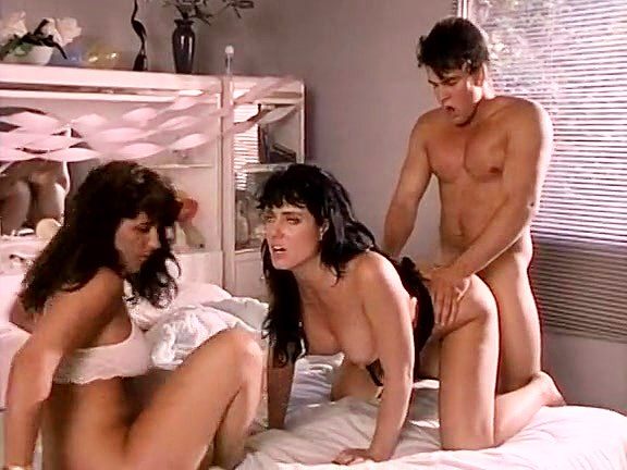 Jeanna Fine, Tiara, T.T. Boy in breathtaking threesome from vintage porn - סרטי סקס